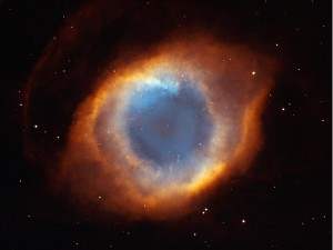Gods-eye nebula - symbol of mind beyond matter