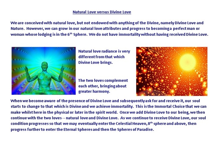 Divine Love vs Natural Love 2